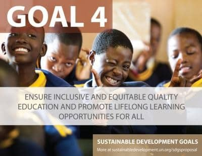Can we ensure inclusive and quality education for all by 2030?