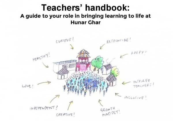 Teachers' handbook English