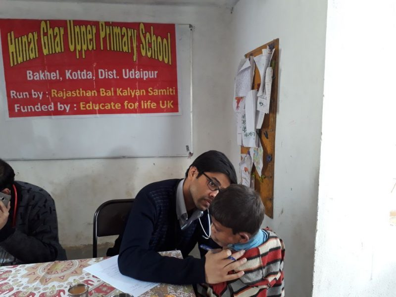 Annual health screening at Hunar Ghar