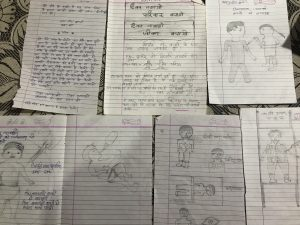 Posters by class 5
