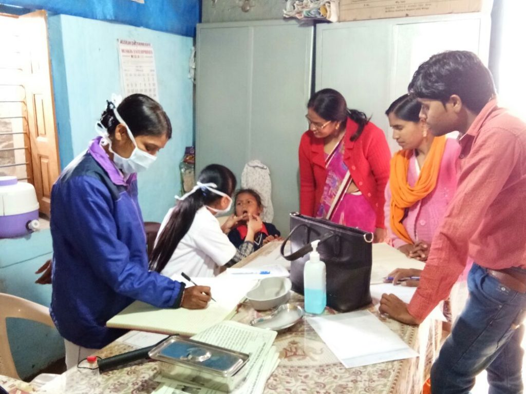 Dental camp at Hunar Ghar
